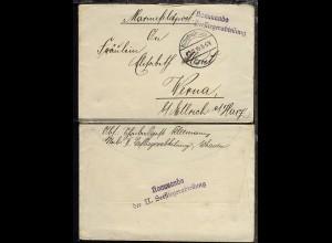 OSt. Wilhelmshaven 29.11.15 + viol. L2 Kommando der II. See-Fliegerabteilung