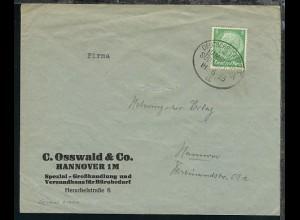 DSP HAMBURG-SÜDAMERIKA 18.6.33 a auf Sammler-Bf.