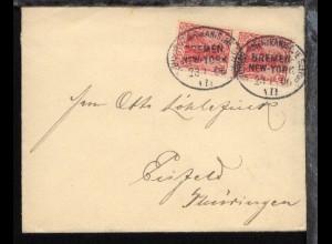 DASP BREMEN-NEW YORK 23.1.06 VII auf Reederei-Umschlag