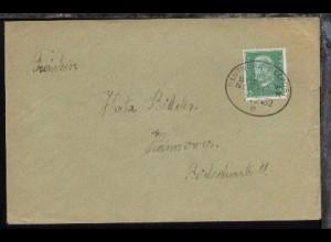 DSP BREMEN-NEW YORK 7.2.32 e auf Sammler-Bf.