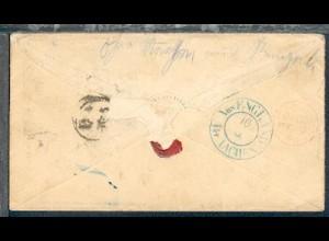 bl. K2 Aus ENGLAND Per AACHEN rs auf Bf. ab Liverpool 8 MY 65