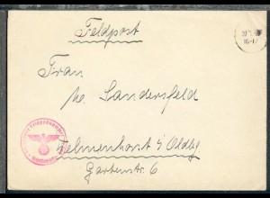 Tarn-Stpl. 20.1.40 + BfSt. 11701 (Minenräumschiff 12 Nürnberg) auf FP-Bf.