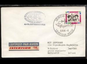 Messesonderflug Leipzig-Reykjavik 5.9.1964