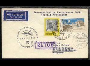 Messesonderflug Leipzig-Kopenhagen 9.9.1960