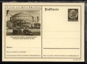 6 Pfg. Hindenburg mit DV 39-142-1-B3 (Bild Breslau Jahrhunderhalle)