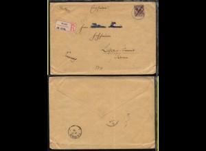 25 Pesa auf R-Bf. mit Stpl. MOSCHI ?.10.99 + rs Transit-Stpl. TANGA 19.10.99