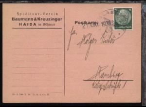 K1 GLASSTADT HAIDA + Datum-L1 21.Okt.1938 auf Firmen-PK