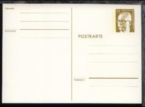Heinemann 15 Pfg. weißer Karton