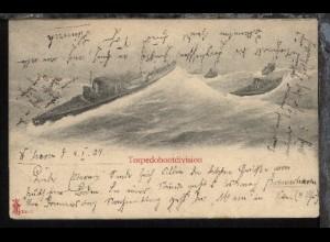 Torpedobootdivision, 1904