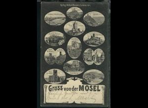 Gruss von der Mosel (12 Bilder), 1905