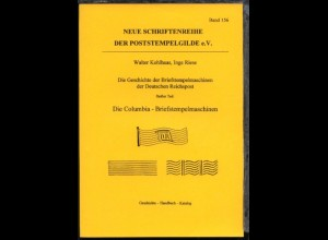 """Walter Kohlhaas/Inge Ries """"Die Geschichte der Briefstempelmaschinen"""
