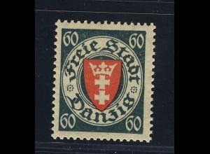 Wappen 60 Pfg., **