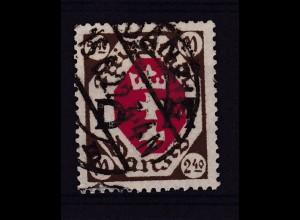Wappen 2,40 M mit Stempel DANZIG 15.6.22, gepr. TWOREK BPP + Infla Berlin