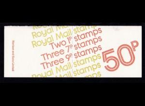 50 P. mit Heftchenblatt 81