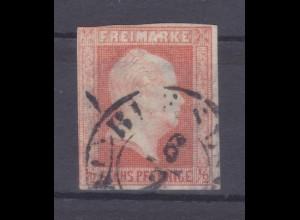 König Friedrich Wilhelm IV. 6 Pfennige