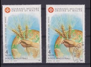 Malteserorden 1981 Kampf gegen den Hunger in der Welt, ** + o