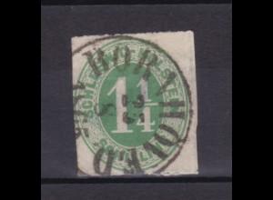 1¼ Sch. mit K1 BORNHÖVED 25.8.1865