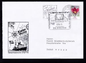 DEUTSCHE SCHIFFSPOST Baujahr 1933 DS STETTIN Nostalgiefahrten Elbe, Nord- und