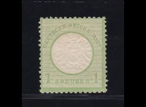 Adler mit großem Schild 1 Kr., *, gepr. Flemming
