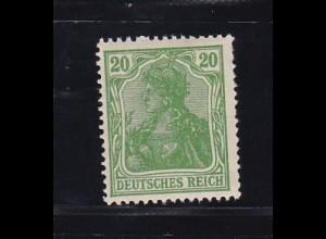 Germania 20 Pfg., **