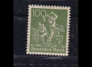 Arbeiter 100 Pfg., **, gepr. Infla Berlin