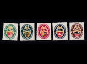 Nothilfe 1928 Länderwappen, *, 429 **