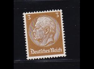 Hindenburg-Medaillon 3 Pfg., *