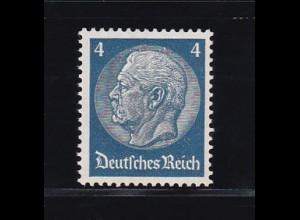 Hindenburg-Medaillon 4 Pfg., **