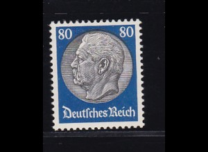 Hindenburg-Medaillon 80 Pfg. , *
