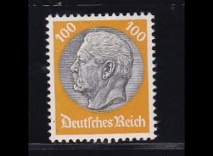 Hindenburg-Medaillon 100 Pfg. , *