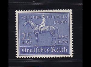 70 Jahre Deutsches Derby, **
