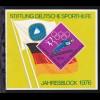 Stiftung Deutsche Sporthilfe Jahresblock 1976