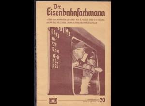 """""""Der Eisenbahnfachmann"""" Älteste Eisenbahnfachzeitschrift für Schulung und"""
