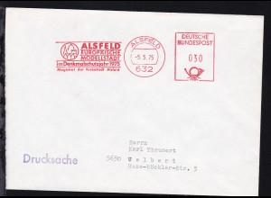 Alsfeld AFD ALSFELD 632 5.5.75 ALSFELD EUROPÄISCHE MODELLSTADT im