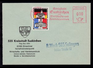 Euskirchen AFS EUSKIRCHEN 535 5.5.66 Kreisstadt EuskirchenWirtschafts- und
