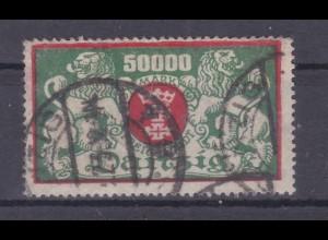 Großes Staatswappen 50000 M., gepr. Infla Berlin