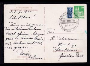 Oberammergau K1 (13b) OBERAMMERGAU PASSIONSSPIELE 1950 03.7.50