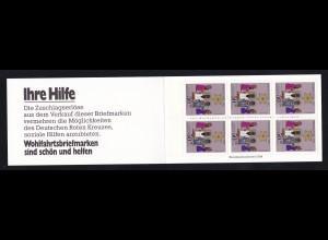2. Weihnachts-Briefmarkenheftchen des Deutschen Roten Kreuzes
