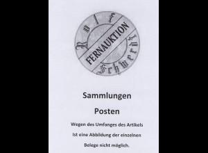 Tüte mit mehreren hundert Zündholz-Etiketten aus Rußland und dem Baltikum