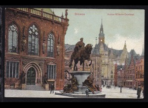 Bremen Kaiser-Wilhelm-Denkmal