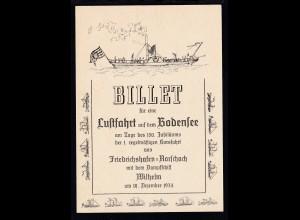 1974 Sonderpostkarte zum 150. Jubiläum der 1. regelmäßigen Kursfahrt