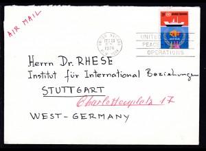 Seerechtskonferenz 26 C. auf Brief ab UNO New York DEC 23 1974 nach Stuttgart