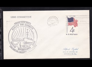 USA Maschinenstempel Anchorage Alaska SEP 26 1960 + Cachet