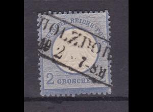 Adler mit kleinem Schild 2 Gr. mit R2 HOLZDORF 10.2.