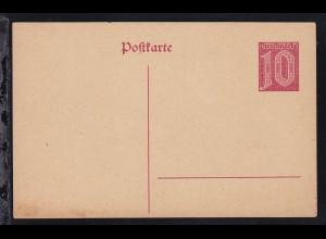Dienstpostkarte 10 Pfg.
