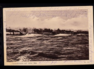 Torpedoboote auf hoher See
