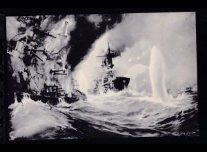 Vernichtung russischer Kriegsschiffe, Stöwer-Karte