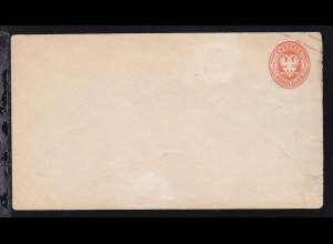 Wappen 1 Sch., Brief kl. Einriss, rs Falzreste und 1 Seitenklappe fehlt