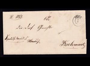 Oels 1849 K2 OELS 2.6. auf Brief