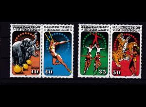 Zirkuskunst in der DDR (II), 2 Paare **